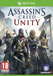 Game cover Assassin's Creed Unity Xbox One