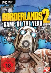 Game cover Borderlands 2 Game of the Year Edition GOTY