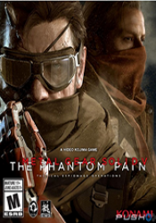 Game cover Metal Gear Solid V The Phantom Pain