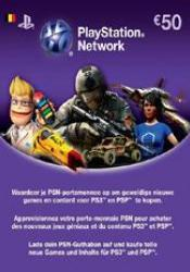 Game cover PlayStation Network Card 50 Euro