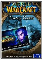 Game cover World of Warcraft 60 Days Prepaid Gametime